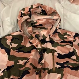Forme Mode Jackets & Coats - Army Pink Jacket L